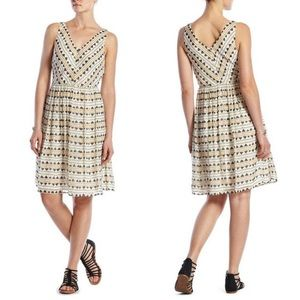 Lucky Brand Tribal Rhythm Silk Dress XS
